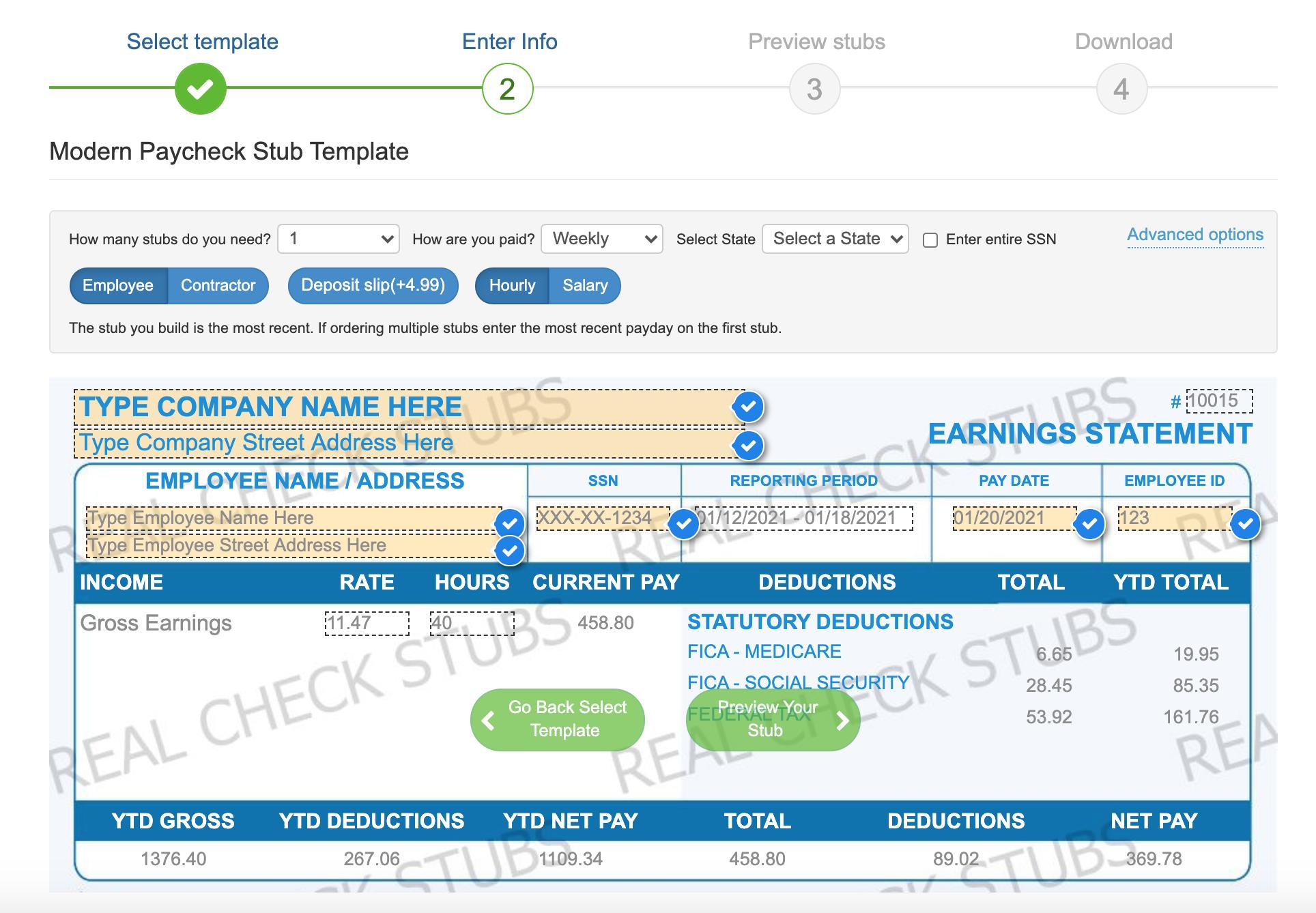 enter pay stub info realcheckstubs.png