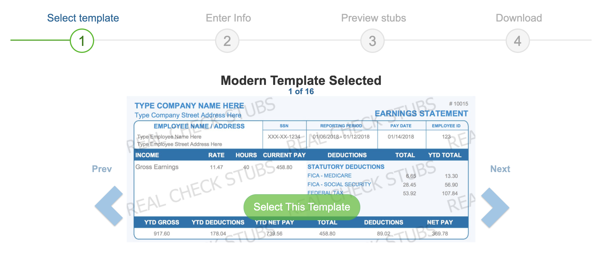 select template realcheckstubs.png
